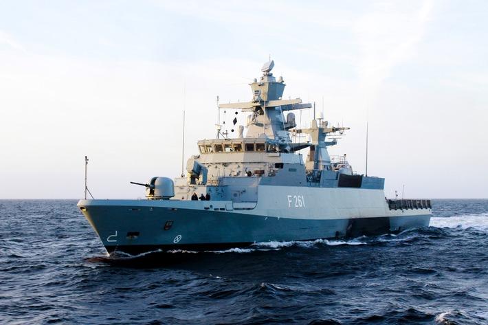 Erstmalige Teilnahme einer Korvette am ständigen maritimen Einsatzverband der NATO