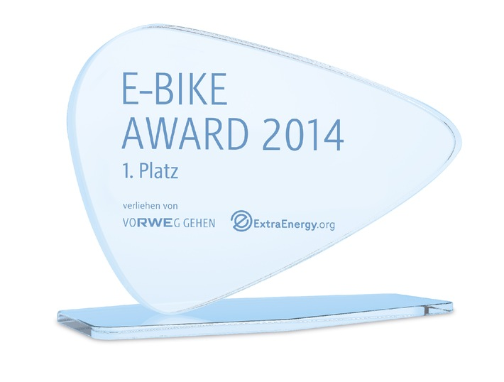 RWE und ExtraEnergy zeichnen mit E-Bike Award bestes Konzept zur nachhaltigen Elektromobilität aus / Preisverleihung am 2. Oktober im Rahmen der LEV Conference auf der INTERMOT in Köln