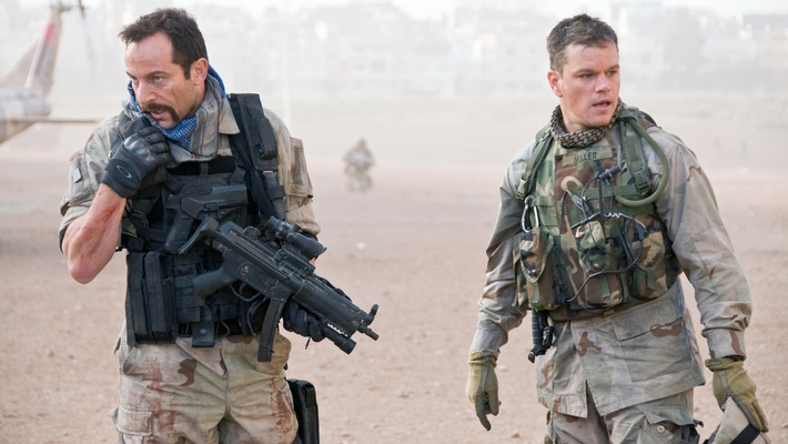 "RTL II zeigt Matt Damon in dem Polit-Thriller ""Green Zone"""