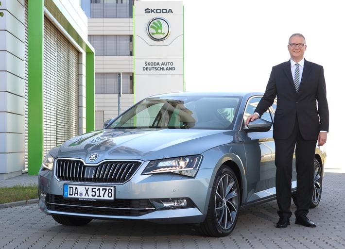 Frank Jürgens übernimmt das Steuer bei SKODA AUTO Deutschland