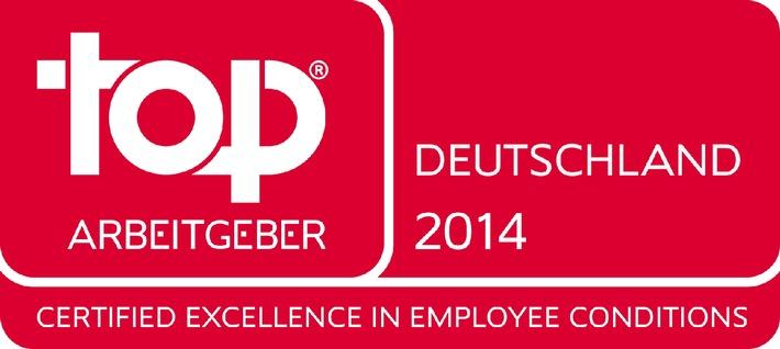 British American Tobacco Germany erreicht Platz 2 im Gesamtranking Top Arbeitgeber Deutschland 2014