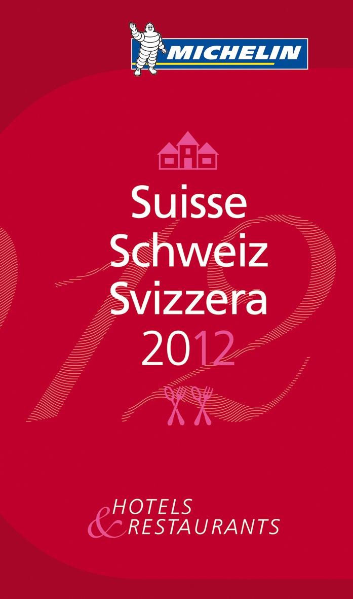 Guide MICHELIN Schweiz 2012 wird vorgestellt