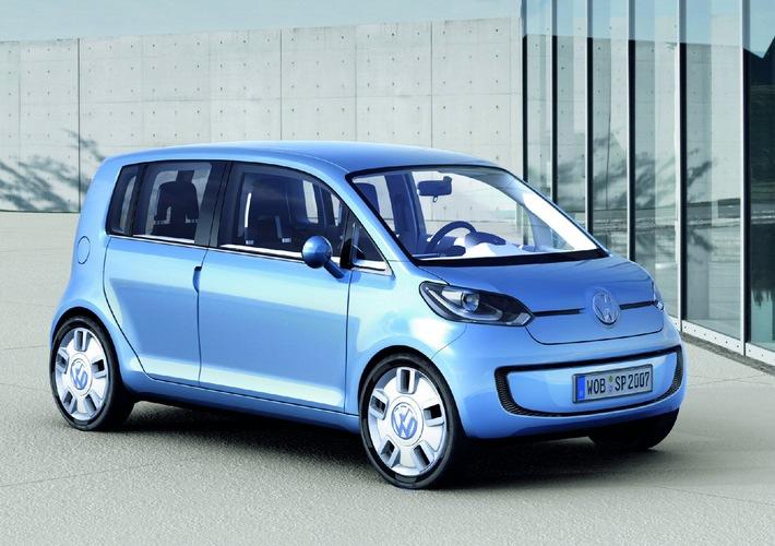"""Première suisse: un bond dans l'avenir grâce à l'étude """" VW Space Up!"""""""
