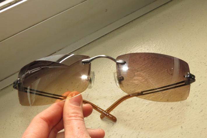 POL-DN: Einbrecher ließen Sonnenbrille zurück