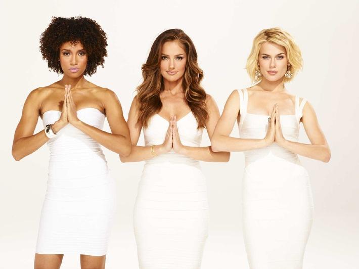 """Frauenpower! """"Charlie's Angels"""" ab 10. Oktober 2012 als Deutschland-Premiere auf sixx (BILD)"""