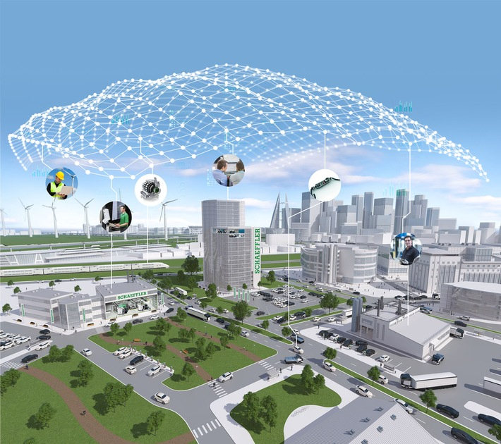 Schaeffler bereitet der Digitalisierung den Weg / Schaeffler auf der CES 2017