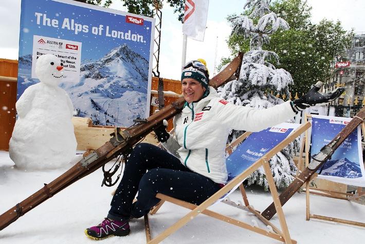 Tirol sorgt für Schneefall bei den olympischen Sommerspielen
