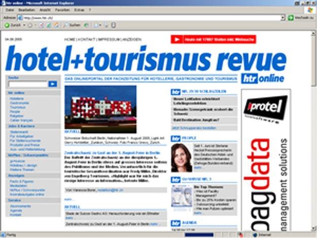 hotelleriesuisse und hotel+tourismus revue: Neuauftritt im Web