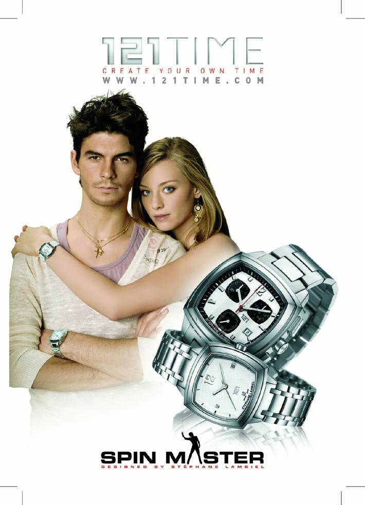 Stephane Lambiel lance sa premiere collection de montres