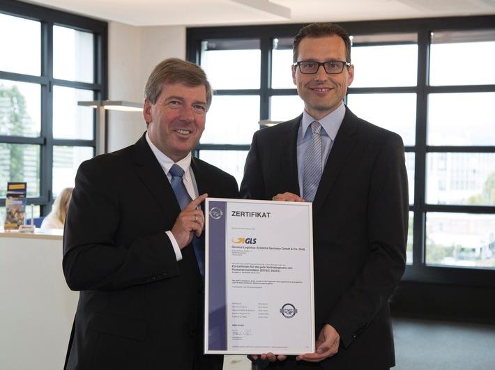 DQS GmbH zertifiziert GLS Germany gemäß GDP