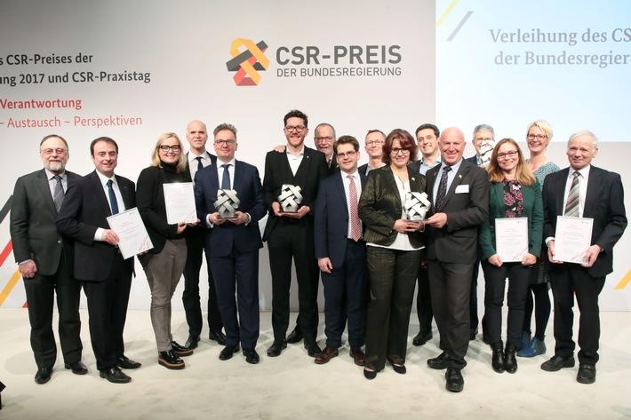 GROHE AG gewinnt CSR-Preis der Bundesregierung