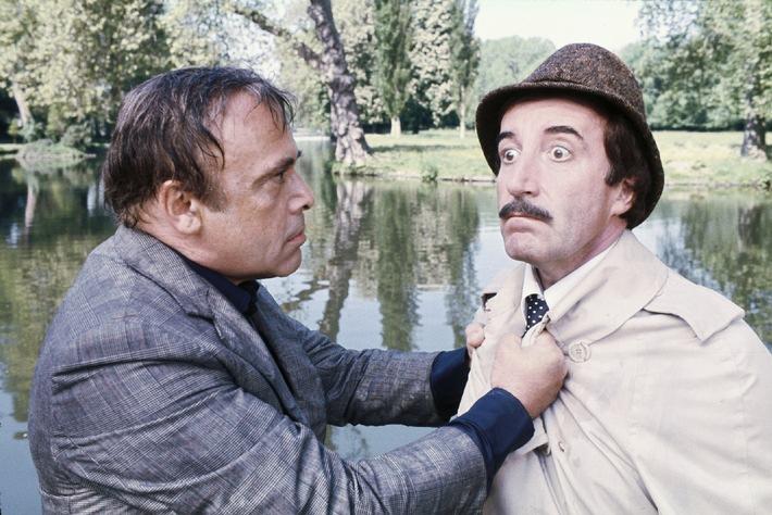 Mit Tretboot und Trenchcoat auf Verbrecherjagd//  Tele 5 präsentiert Clouseau-Reihe und 'Das große Rennen von Belleville'