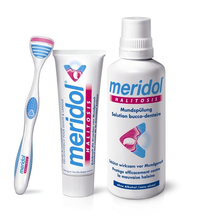 Schluss mit Mundgeruch / Wissenschaftler der meridol Forschung entwickeln neues System gegen Mundgeruch