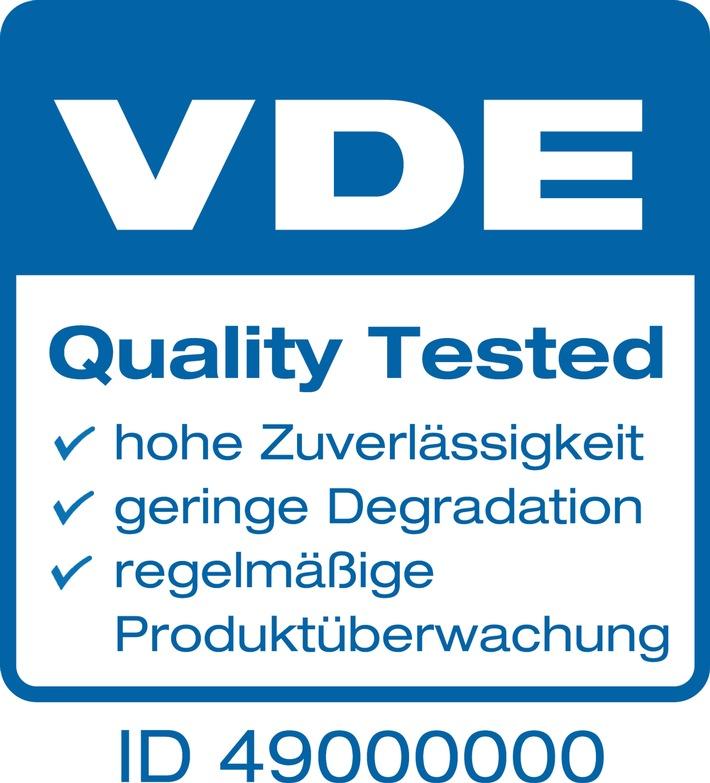 """VDE und Munich Re kooperieren bei Photovoltaikmodulen / Premium-Label """"VDE Quality Tested"""" ermöglicht vereinfachte Versicherung von Leistungsgarantien"""