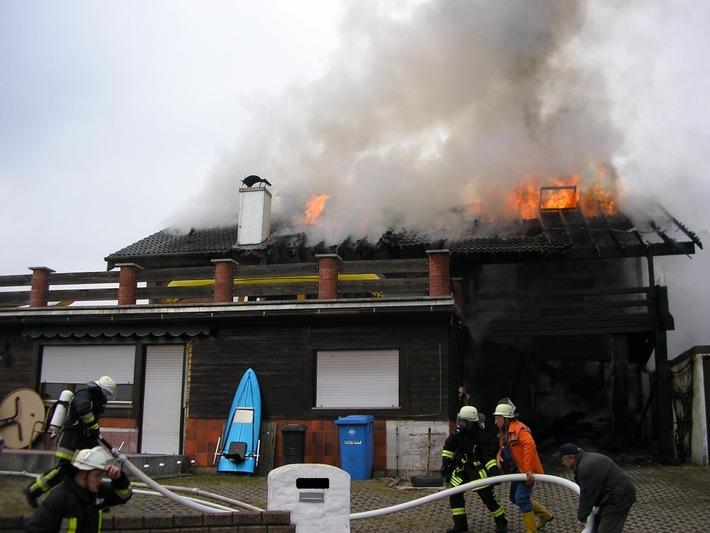 PPSH-ERB: Brombachtal - Wohnhausbrand