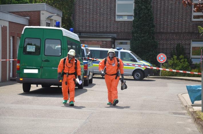 POL-STD: Einsatz des Stader Umweltzuges bei der Polizeiinspektion Stade