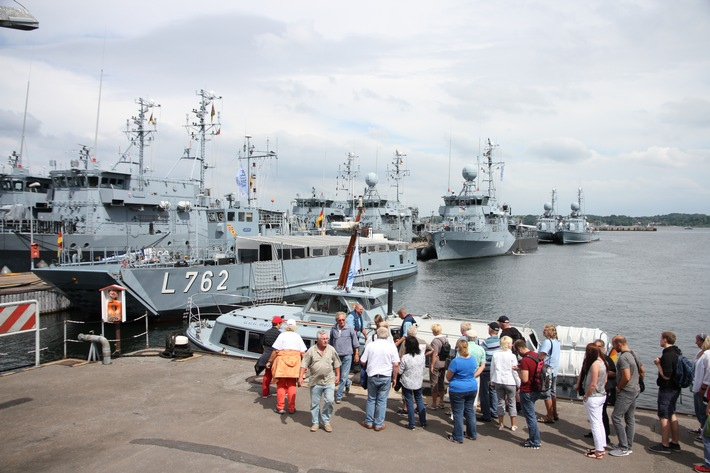 Die Marine auf der Kieler Woche #marinekielerwoche