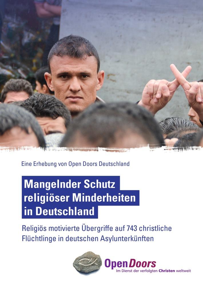 Religiös motivierte Übergriffe auf 743 christliche Flüchtlinge / Open Doors und weitere Hilfsorganisationen stellen neuen Lagebericht vor