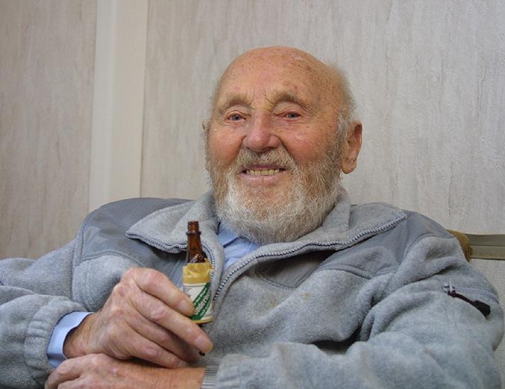 100 Jahre alt mit Underberg