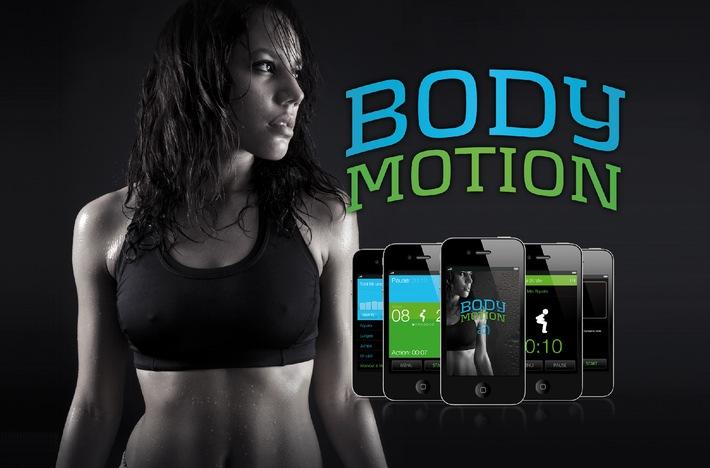 Body-Motion - Der 4-Minuten-Fettweg-Trainer jetzt auf dem iPhone