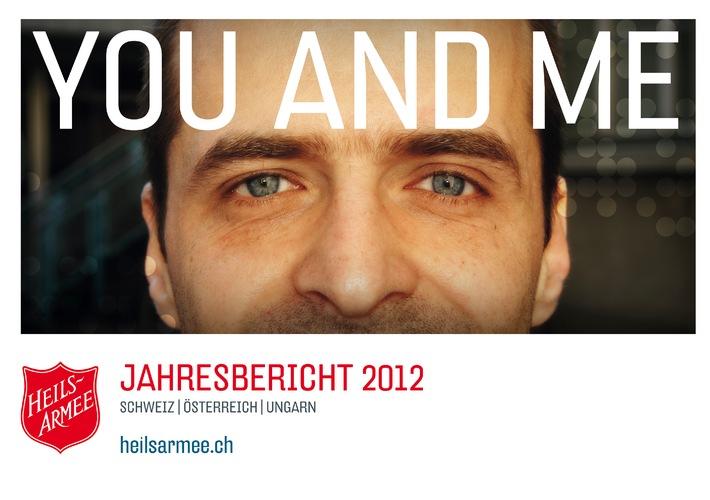 """Jahresbericht """"You and me"""": Die Heilsarmee baut Brücken"""
