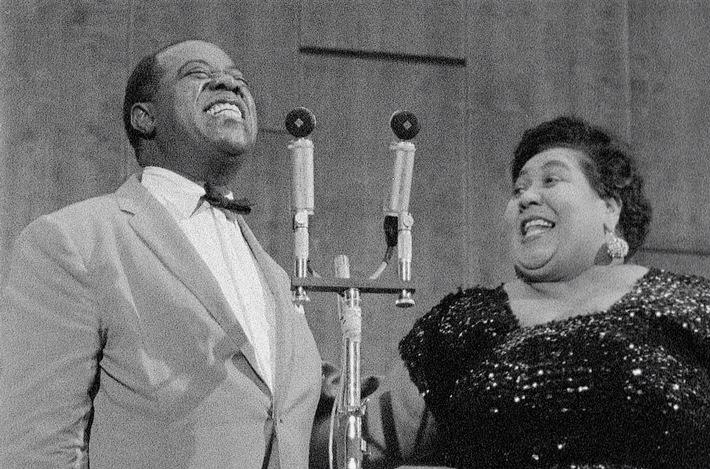 Rekonstruiertes Konzert: Louis Armstrong in der Liederhalle