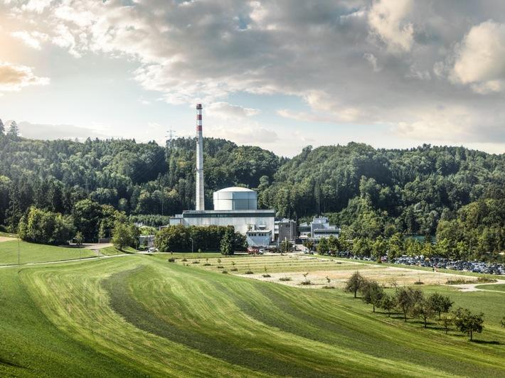 Arrêt définitif du fonctionnement de puissance: La centrale nucléaire de Mühleberg sera définitivement déconnectée du réseau le 20 décembre 2019