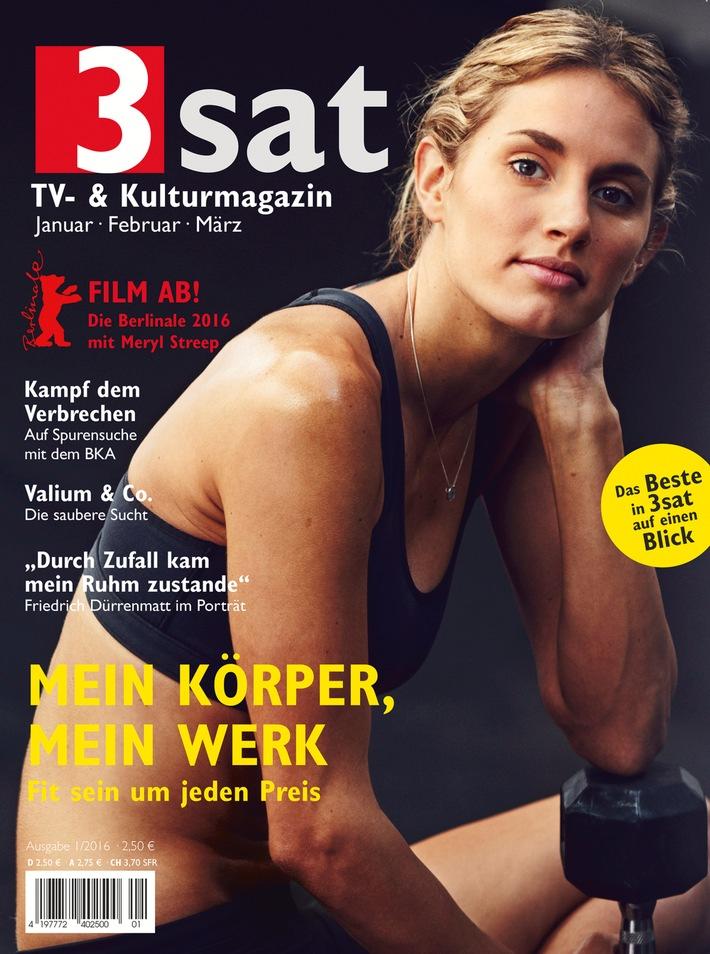 """Mein Körper, mein Werk / Fit sein um jeden Preis? / Mehr im neuen """"3sat TV- & Kulturmagazin"""" / Ab 18. Dezember im Handel erhältlich"""