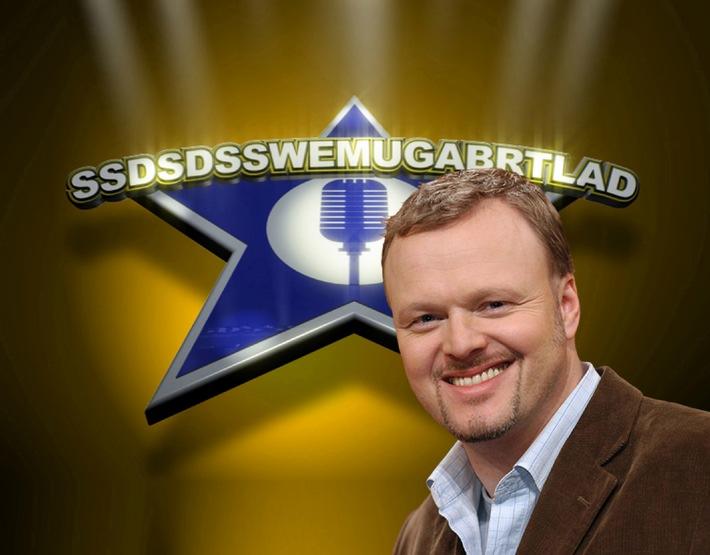 """Guter Start von Stefan sucht den Superstar: SSDSDSSWEMUGABRTLAD bei """"TV total"""""""