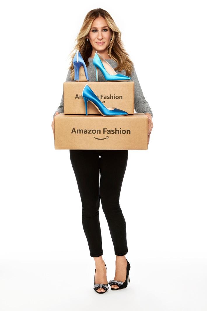 Amazon Fashion kollaboriert mit Sarah Jessica Parker: Neue H/W 17 Schuhkollektion von SJP by Sarah Jessica Parker mit exklusiven Farben ab Oktober erhältlich