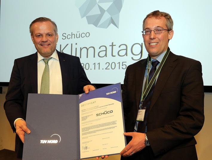 Schüco International KG: Reduktion des CO2-Fußabdrucks um 60 %