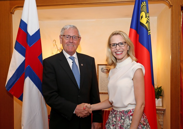 ikr: EFTA im Mittelpunkt des Gesprächs mit Aussenminister der Färöer Inseln