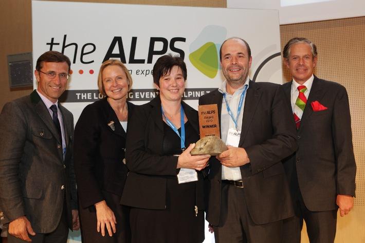 Naturhautnah.at gewinnt den theALPS Award 2012 - BILD