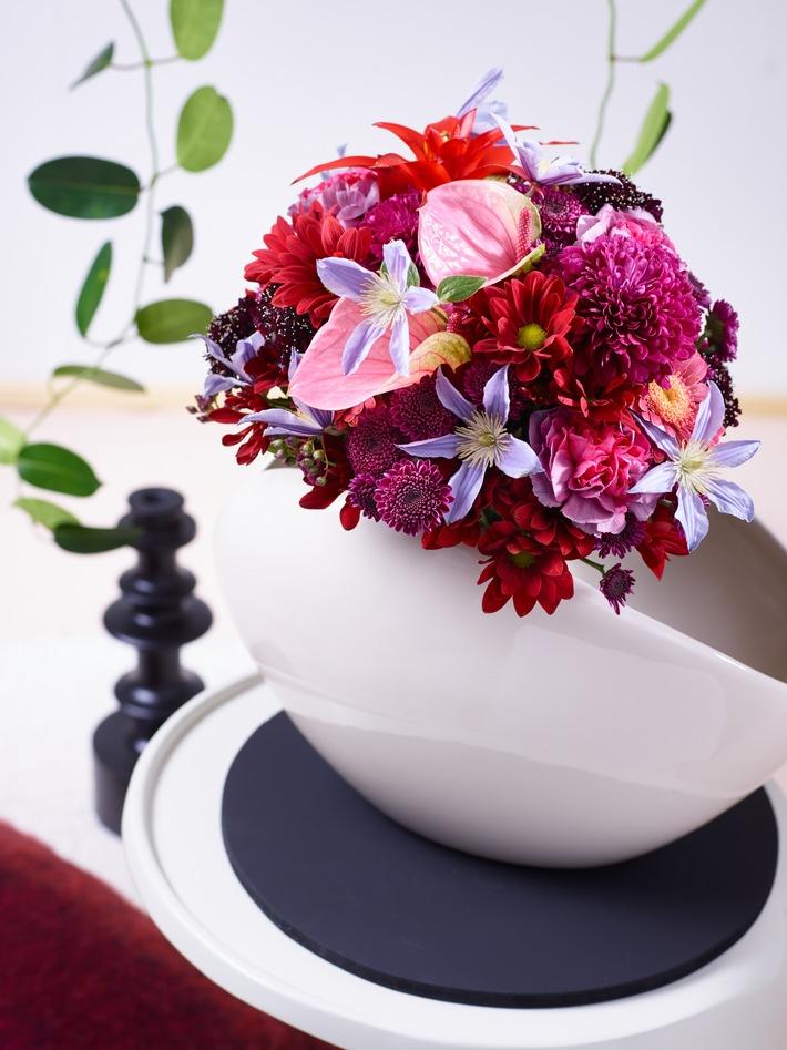 florale geschenkideen f r die mama muttertagsfreuden mit der chrysantheme pressemitteilung. Black Bedroom Furniture Sets. Home Design Ideas