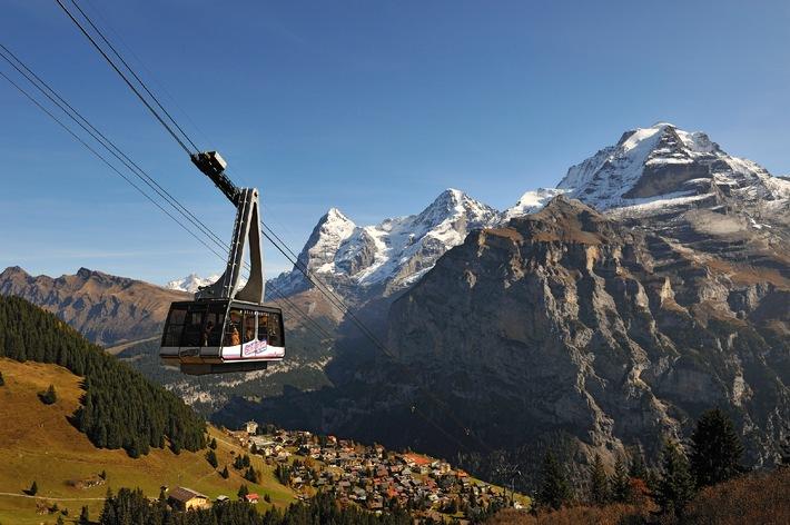Herbstausflug aufs Schilthorn mit atemberaubender 360-Grad-Panoramasicht