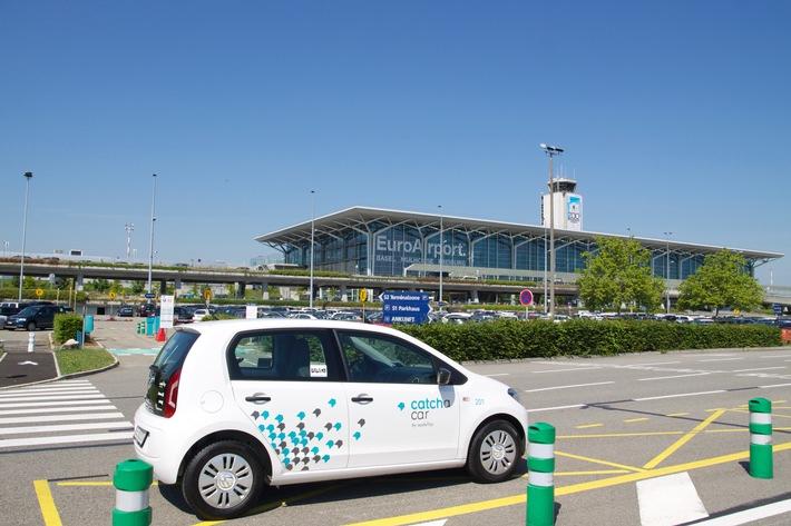 Catch a Car bedient neu den EuroAirport Basel-Mulhouse-Freiburg