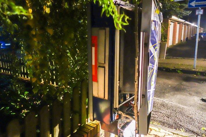 Zigarettenautomat - Seitenansicht
