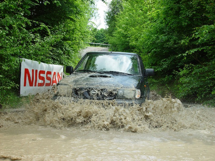 Offroad-Action in Vesin