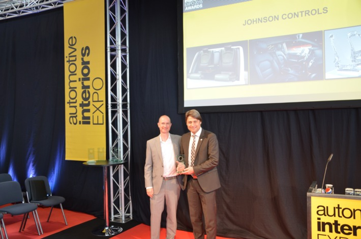 "Johnson Controls awarded ""Supplier of the Year"" for the second time / Automotive supplier recognized at Automotive Interiors Expo 2015 in Stuttgart"