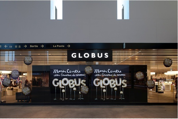 Globus Neueröffnung: Neuer Globus im Centre Marin, Neuenburg eröffnet!