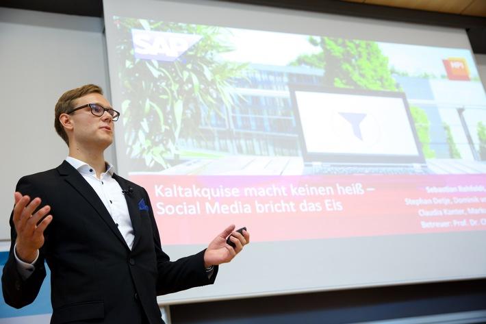 Hasso Plattners Studenten verschaffen mit neuer Unternehmenssoftware der Wirtschaft Wettbewerbsvorteile