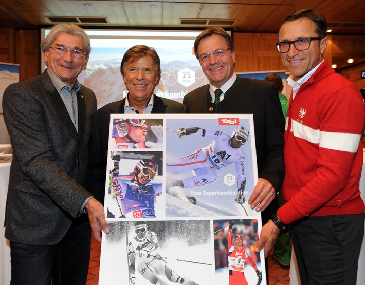 Weltcupauftakt in Sölden: ÖSV und Tirol feiern 25 Jahre Superkombination