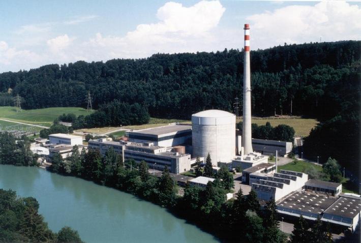 Centrale nucléaire de Mühleberg: 30 ans de production d'électricité sûre, rentable et respectueuse de l'environnement