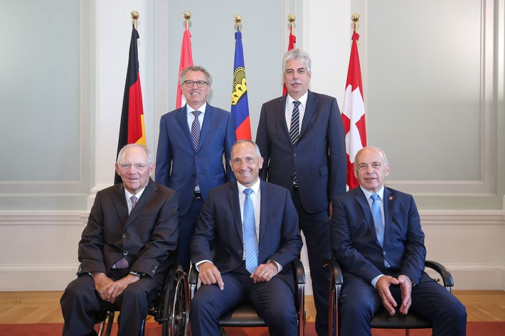 ikr: Informelles Treffen der deutschsprachigen Finanzminister in Vaduz