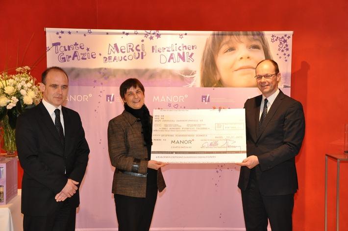 250'000 Franken zugunsten der Stiftung Kinderschutz Schweiz