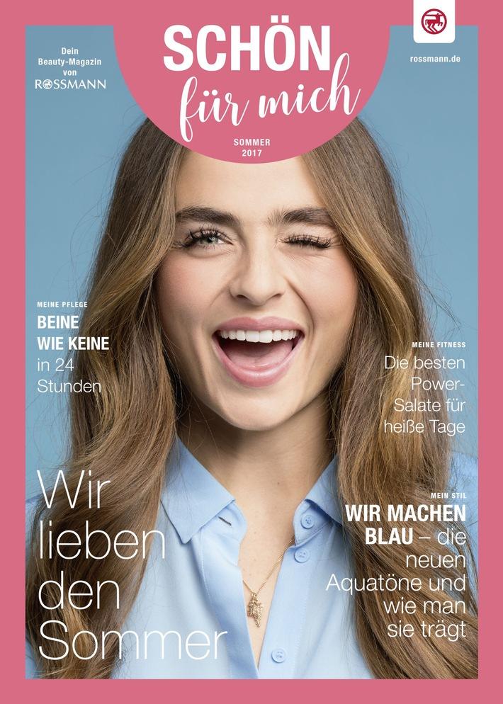 """Neues Beauty-Magazin von ROSSMANN: TERRITORY macht es """"SCHÖN für mich"""""""