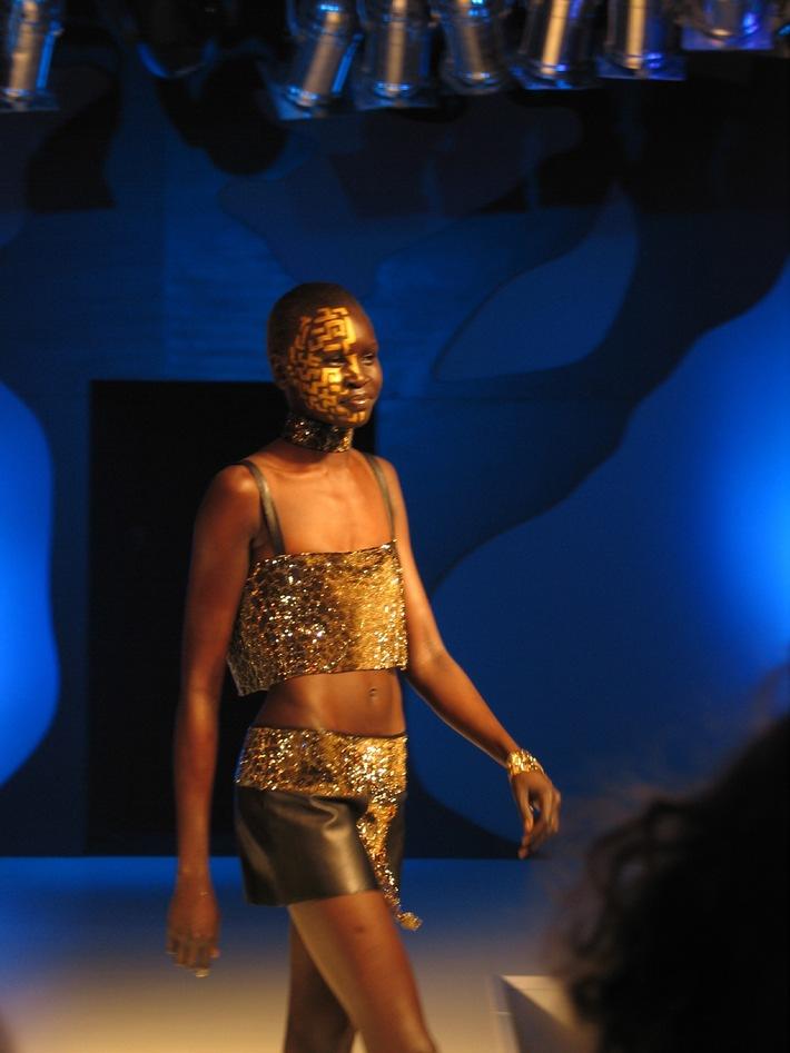 Evento internazionale nel mondo Swarovski; Cristalli con un tocco d'Africa
