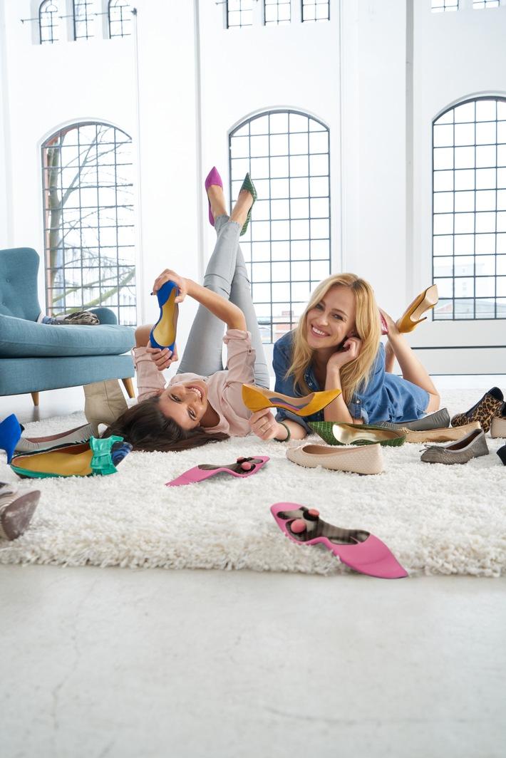 Entspannt durch den Sommer: Ballerina oder High Heels - bequem unterwegs mit Einlagen