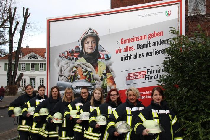 FW-Erkrath: Freiwillige Feuerwehr Erkrath wirbt um weibliche Mitglieder