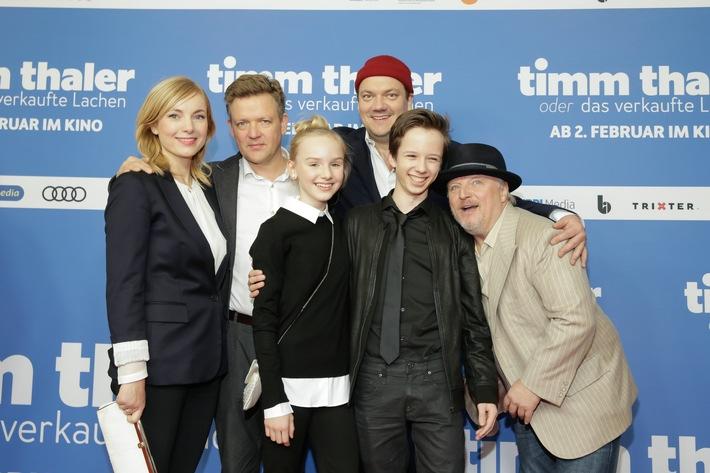 TIMM THALER ODER DAS VERKAUFTE LACHEN feiert umjubelte Premiere in Berlin